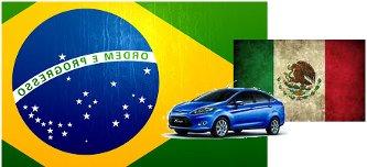 Importacion Autos entre Brasil y Mexico